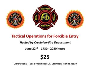 Crestview Forcible Entry Class