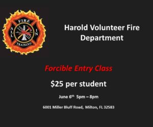 Harold Forcible Entry Class